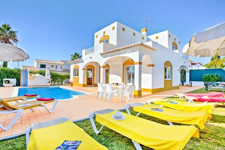 Villa Anamar, Gale, Algarve, Portugal