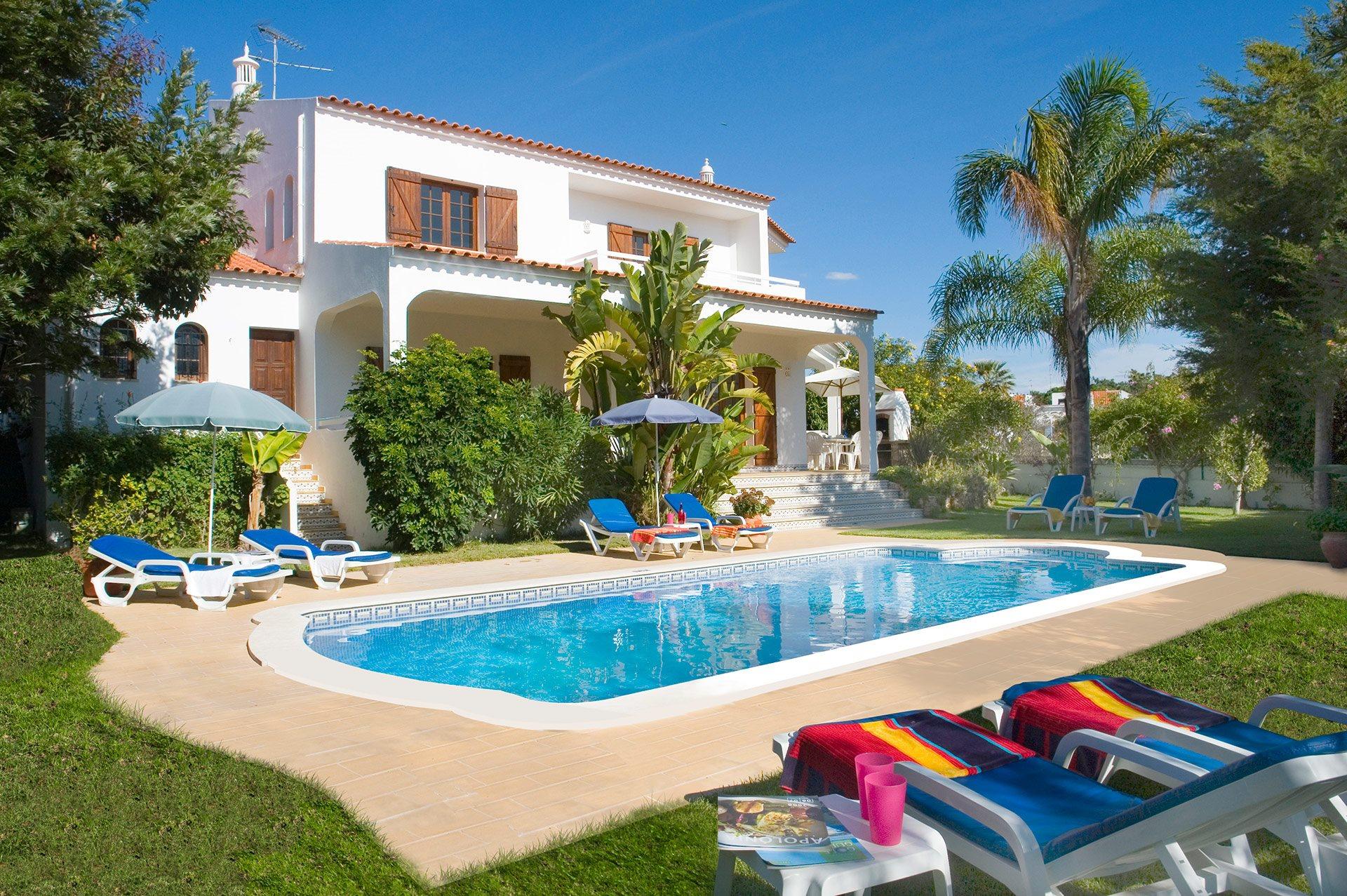 Villa Bosque, Praia D'Oura, Algarve, Portugal