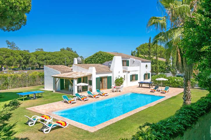Villa Chamine de La, Vale do Lobo, Algarve, Portugal