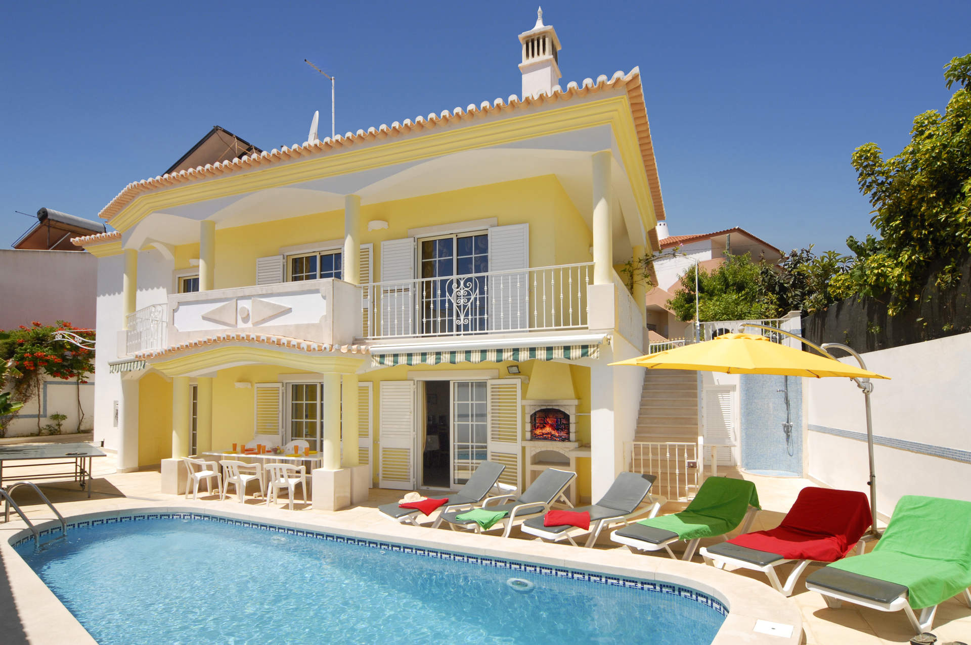 Villa Cubos, Praia D'Oura, Algarve, Portugal