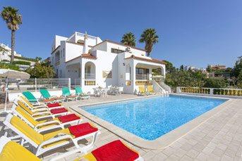 Villa Curva do Monte, Carvoeiro, Algarve, Portugal