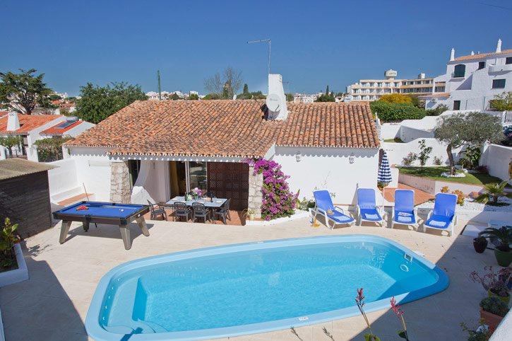 Villa Dela, Praia D'Oura, Algarve, Portugal