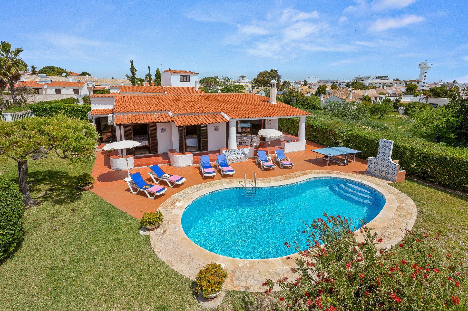 Villa Diniz, Praia D'Oura, Algarve, Portugal