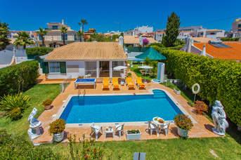 Villa Eliza, Praia D'Oura, Algarve, Portugal