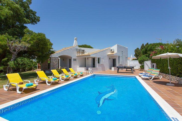 Villa Elo, Praia D'Oura, Algarve, Portugal