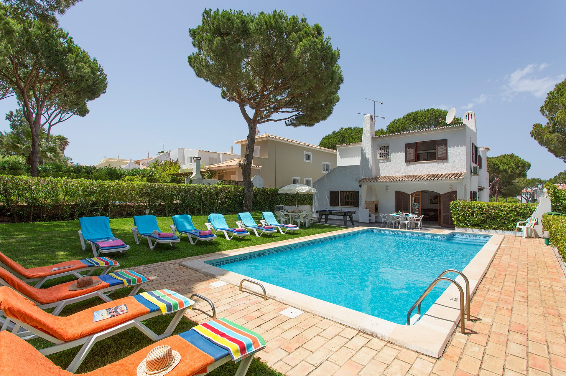 Villa Fineli, Vilamoura, Algarve, Portugal