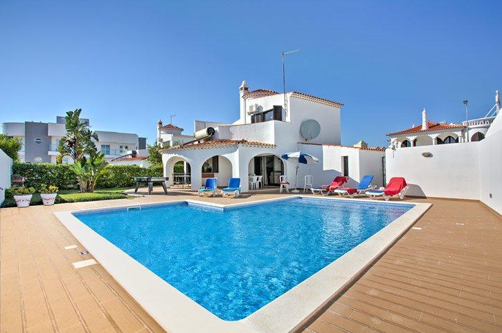 Villa Francella, Praia D'Oura, Algarve, Portugal