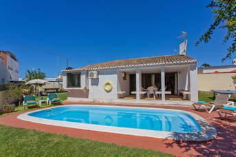 Villa Genoveva, Praia D'Oura, Algarve, Portugal