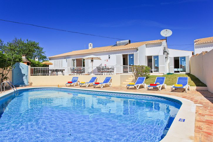 Villa Joana D'Oura, Praia D'Oura, Algarve, Portugal