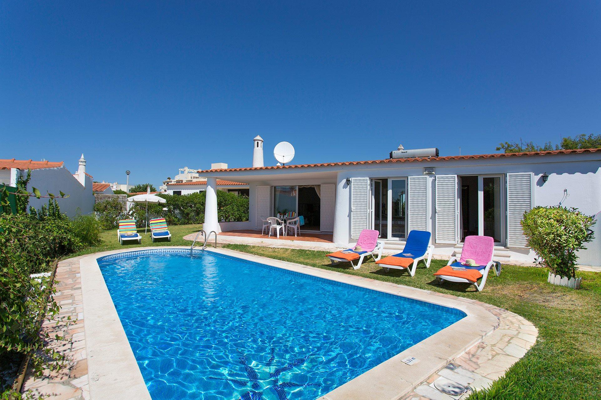 Villa Lena, Praia D'Oura, Algarve, Portugal