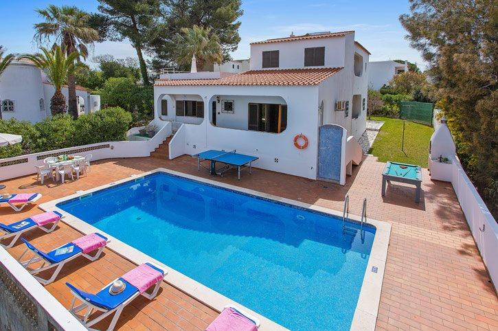 Villa Leoes, Carvoeiro, Algarve, Portugal