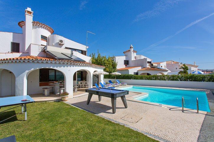 Villa Margarida, Praia D'Oura, Algarve, Portugal