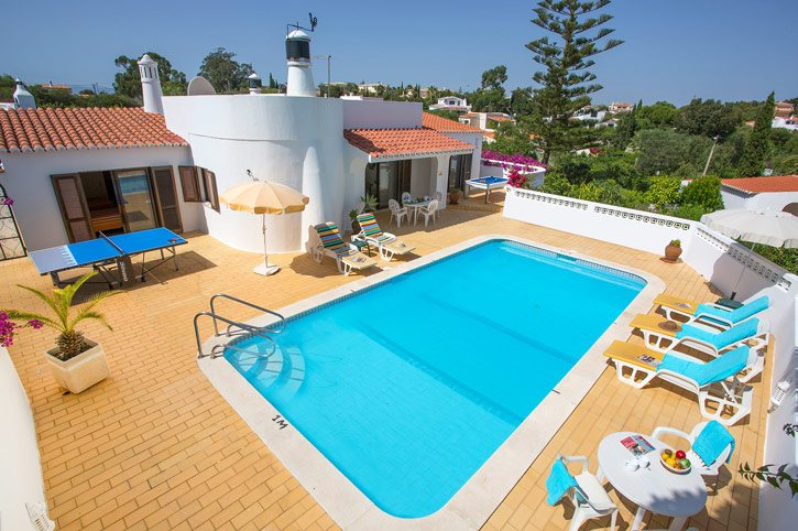 Villa Marie Anne, Carvoeiro, Algarve, Portugal