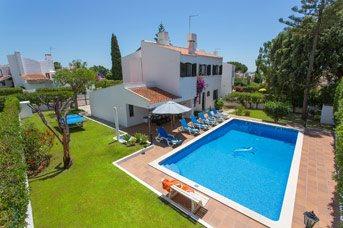Villa Montechoro, Praia D'Oura, Algarve, Portugal