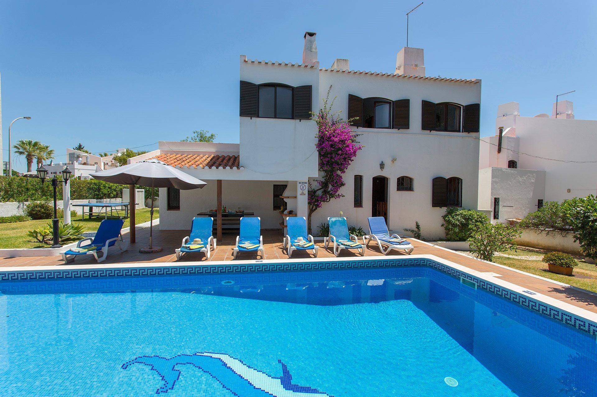 Villas In Praia D Oura Montechoro Algarve