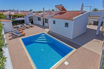 Villa Mourinho, Praia D'Oura, Algarve, Portugal