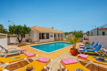 Villa Neptuno Sol, Praia D'Oura, Algarve, Portugal