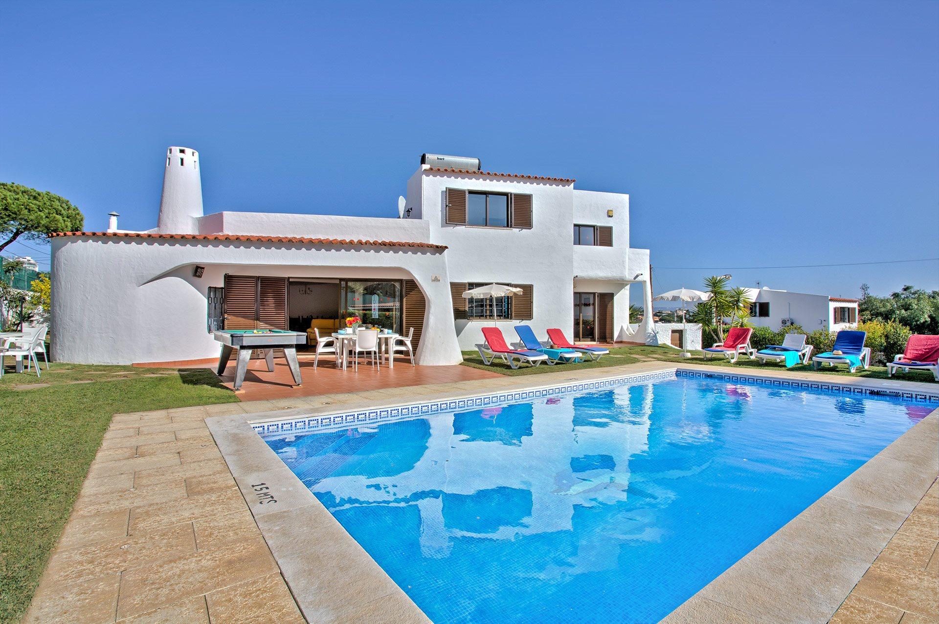 Villa Nicoletta, Praia D'Oura, Algarve, Portugal