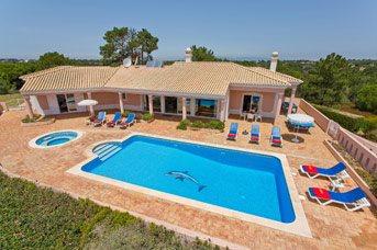 Villa Ocean View, Carvoeiro, Algarve, Portugal