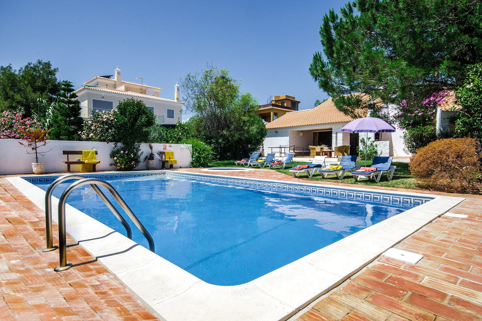 Villa Osborne, Praia D'Oura, Algarve, Portugal