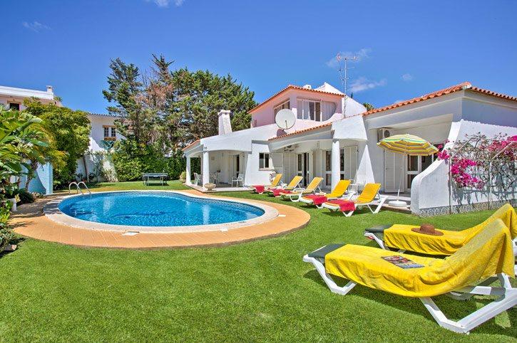 Villa Palmeiras, Praia D'Oura, Algarve, Portugal