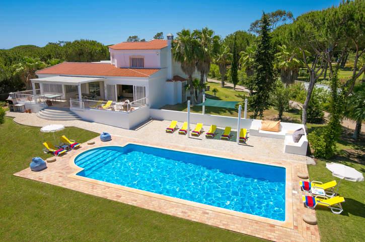 Villa Penrose, Vale do Lobo, Algarve, Portugal