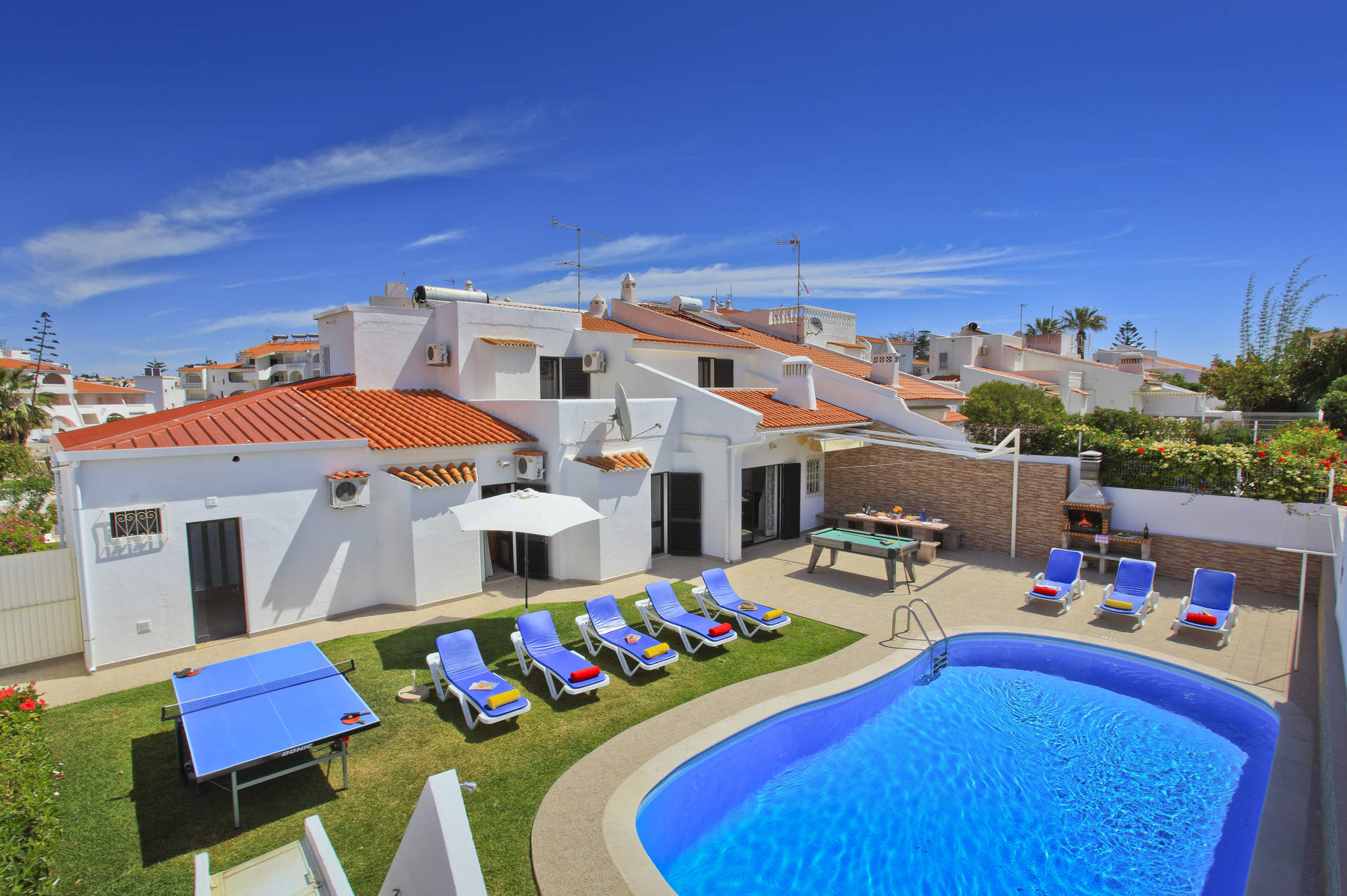 Villa Pina, Praia D'Oura, Algarve, Portugal