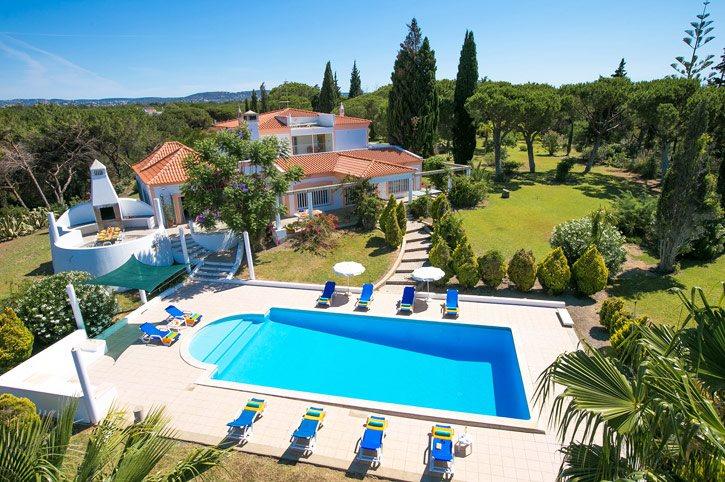 Villa Pinhal Santo, Vale do Lobo, Algarve, Portugal