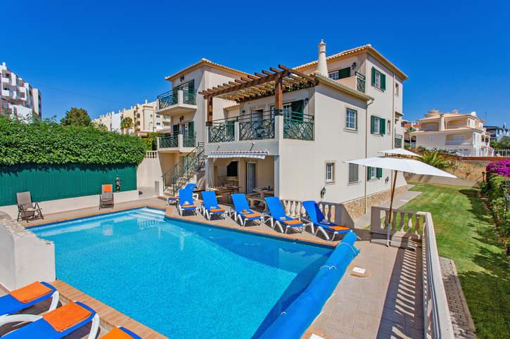 Villa Ritzy, Praia D'Oura, Algarve, Portugal