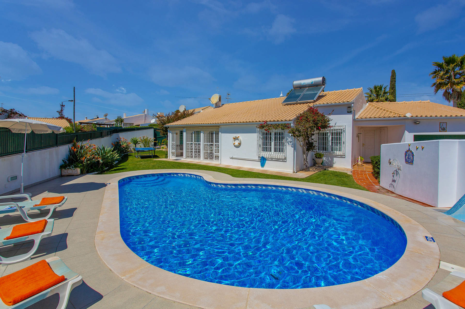 Villa Rocchi, Praia D'Oura, Algarve, Portugal