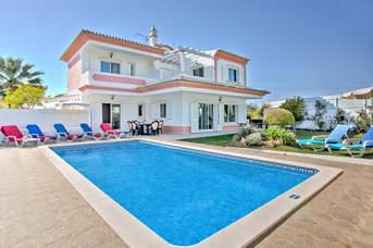 Villa Rosa, Olhos D'Agua, Algarve, Portugal