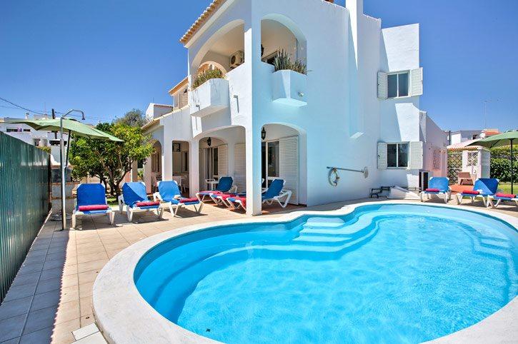 Villa Sao Jose, Praia D'Oura, Algarve, Portugal