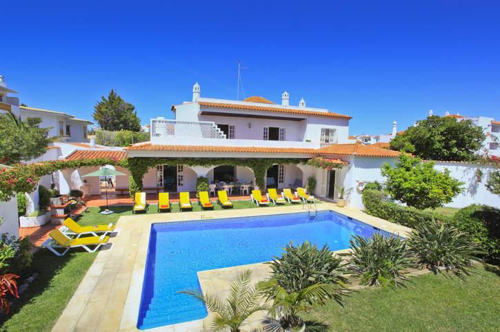 Villa Solarzinho, Praia D'Oura, Algarve, Portugal