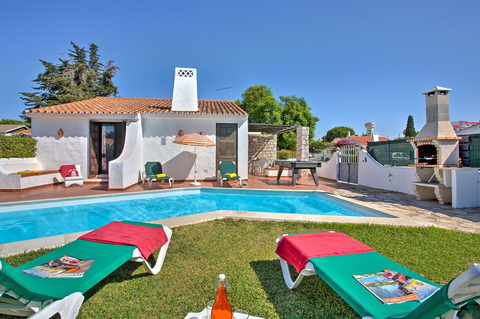 Villa Sunshine, Praia D'Oura, Algarve, Portugal