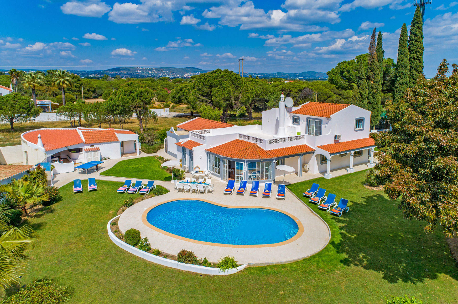 Villa Talefe, Vale do Lobo, Algarve, Portugal