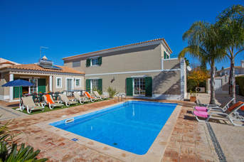 Villa Teotel, Almancil, Algarve, Portugal