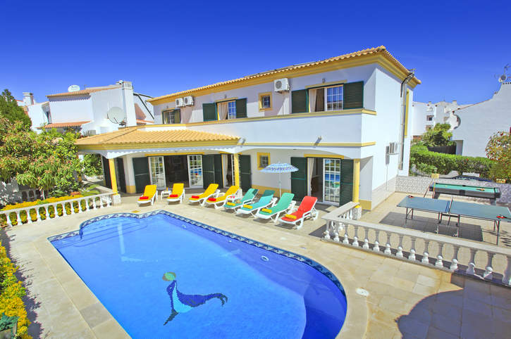 Villa Vale, Praia D'Oura, Algarve, Portugal