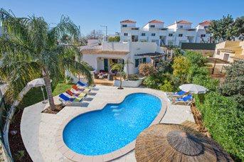 Villa Vanessa, Albufeira, Algarve, Portugal