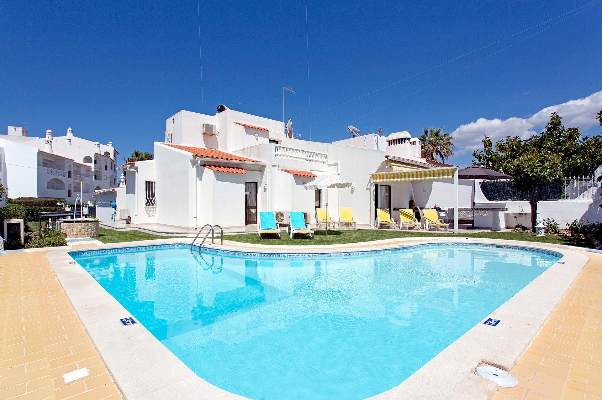 Villa Verao Sol, Praia D'Oura, Algarve, Portugal
