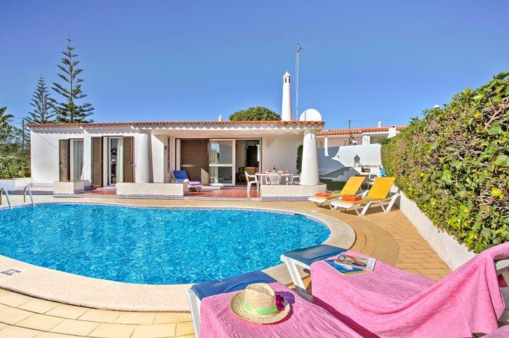 Villa Vitor, Praia D'Oura, Algarve, Portugal