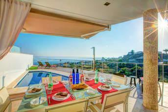 Villa Amura Sea View, Torrox Costa, Andalucia, Spain