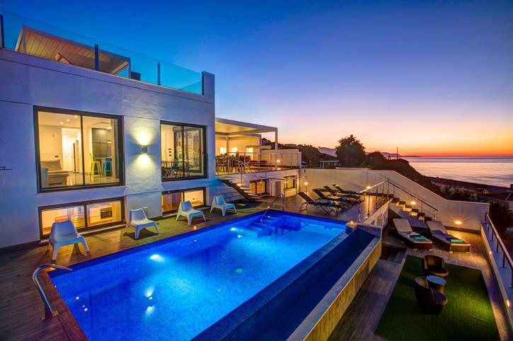 Villa Barco Sea View, Torrox Costa, Andalucia, Spain