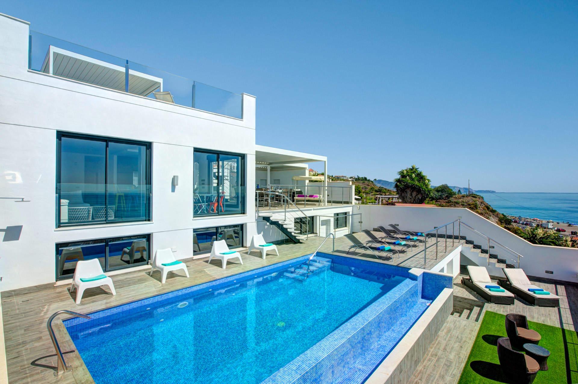 Villa Barco Sea View In Torrox Costa, Andalucia | Villa Plus