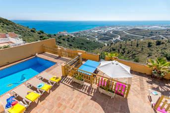 Villa Benizan, Torrox Costa, Andalucia, Spain