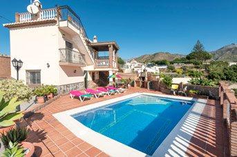Villa Blancuzcal, Frigiliana, Andalucia, Spain