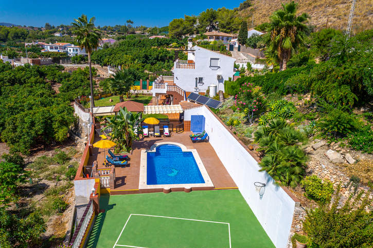 Villa Las Cadas, Nerja, Andalucia, Spain