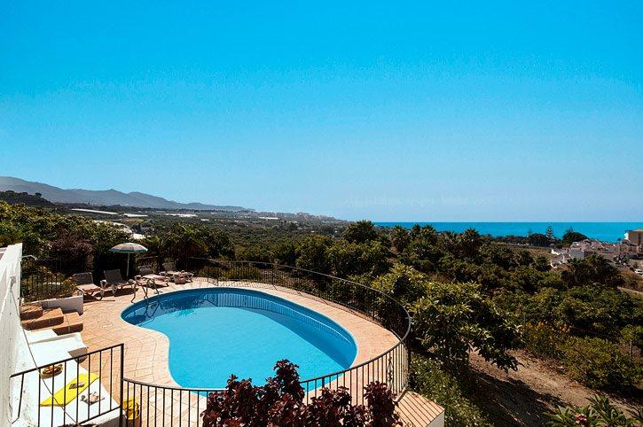 Villa Carmen Lara, Nerja, Andalucia, Spain