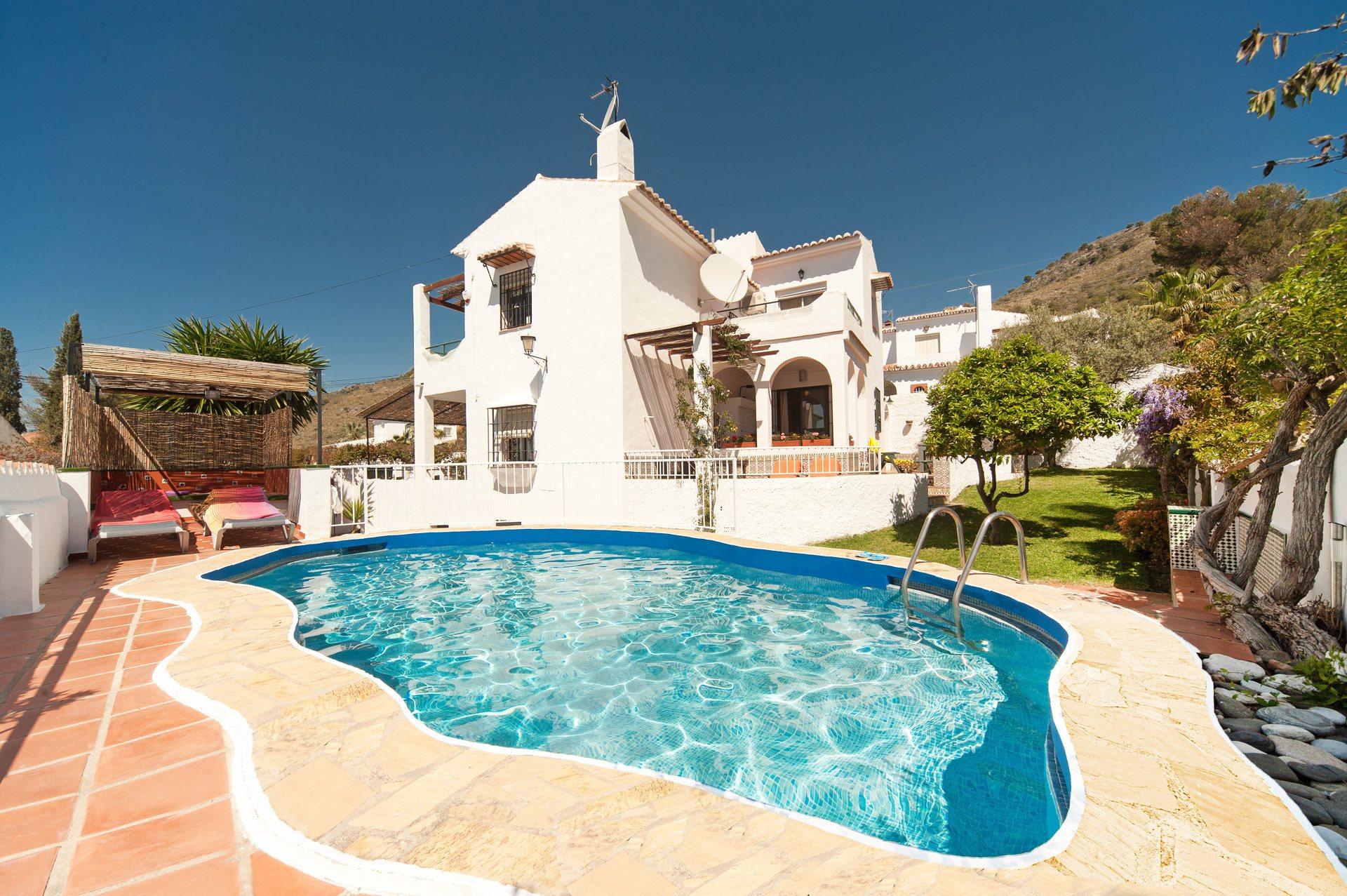 Villa Cuesta Cielo, Nerja, Andalucia, Spain
