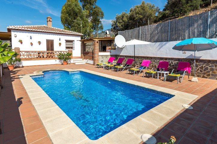 Villa Emilio Sol, Frigiliana, Andalucia, Spain