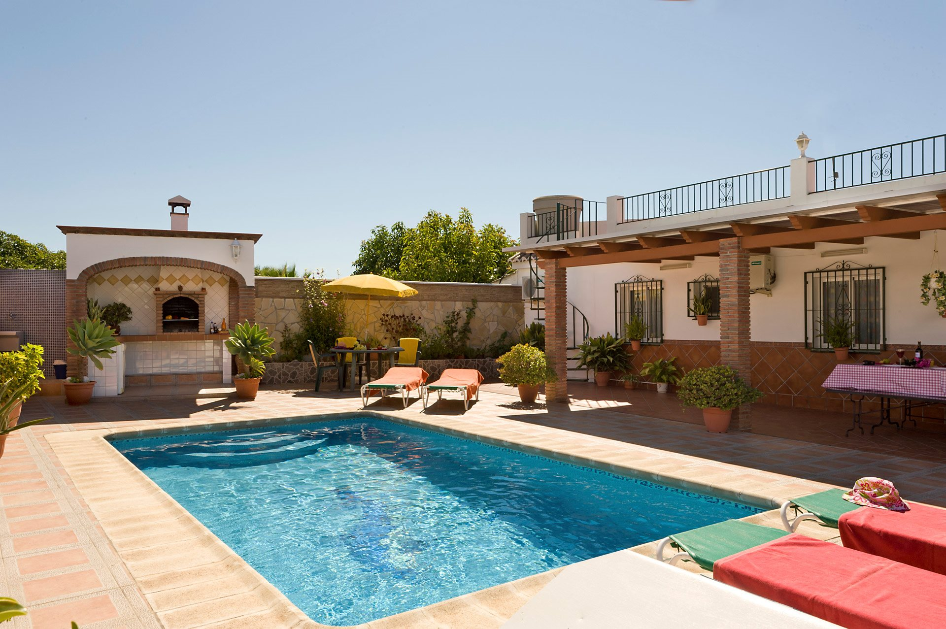 Bedroom Villa Nerja Spain